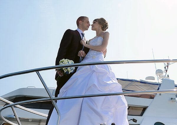 wedding boat hire