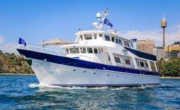 ariston luxury yacht sydney
