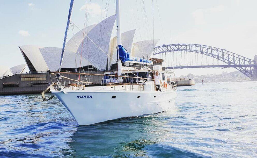 major tom boat sydney