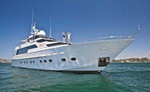 Oscar 2 super yacht Sydney harbour