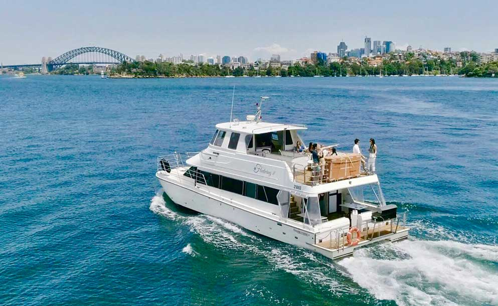 fleetwing out in sydney harbour