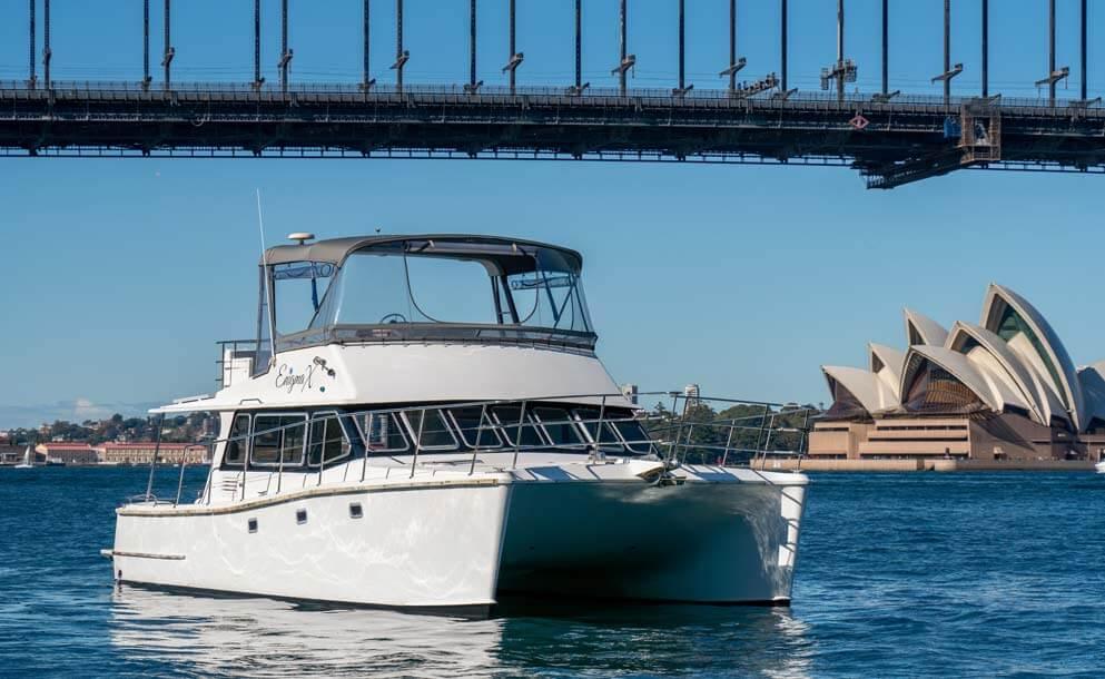modern catamaran sydney