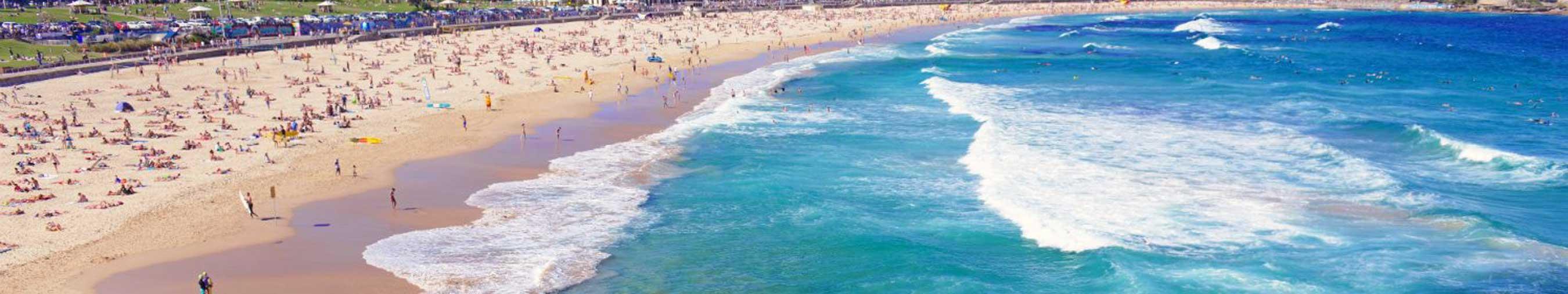 bondi-beach sydney australia banner